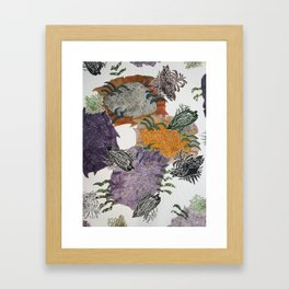Carbonation Collection: fall Framed Art Print