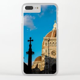 Shadows in Florence Clear iPhone Case