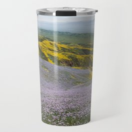 California Wildflowers Travel Mug