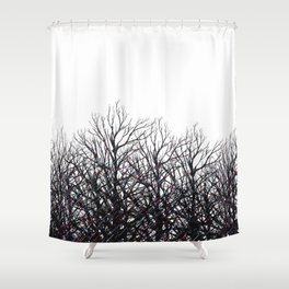 Tree Beams Shower Curtain