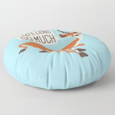 Prey Tell Floor Pillow