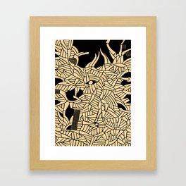 - summer : blinded by the sun - Framed Art Print