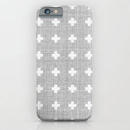 Small Swiss Cross iPhone Case