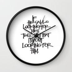 If He Calls Wall Clock
