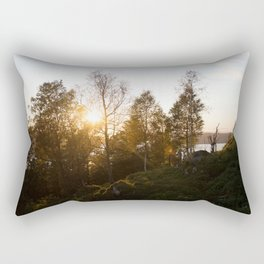 Sunset in Bergen Rectangular Pillow
