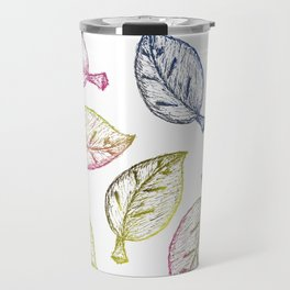 Hojas de Color Travel Mug