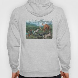 Irish Wolfhound Hoody