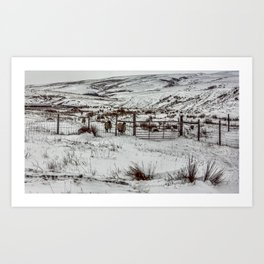 Winter in the Dales Art Print