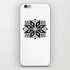 knit flake iPhone & iPod Skin