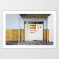 brazil Art Prints featuring Brazil by Sara_photographer