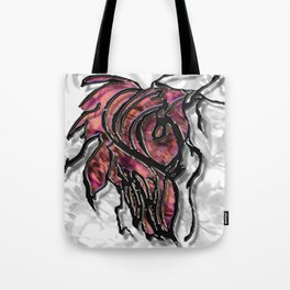 Push Forward with Courage Tote Bag