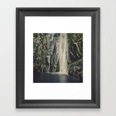 Niagara Falls BC Framed Art Print