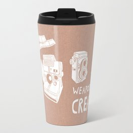Weapons Of Mass Creation - Photography (white) Travel Mug