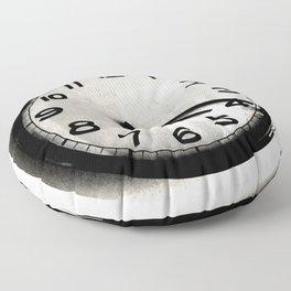 Four Nineteen Clock Floor Pillow