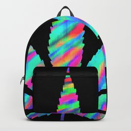 Weed : High Time Colorful Psychedelic Backpack