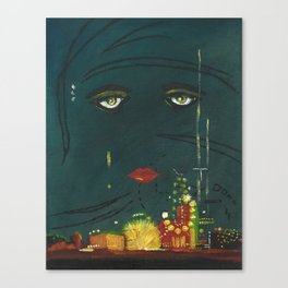 Gatsby Canvas Print
