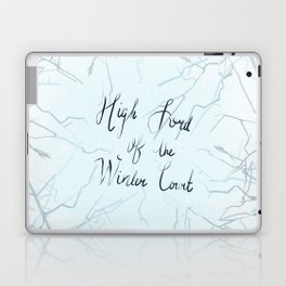 High Lord of the Winter Court Laptop & iPad Skin