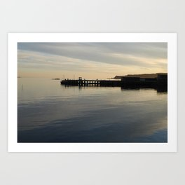 Millport Pier Art Print