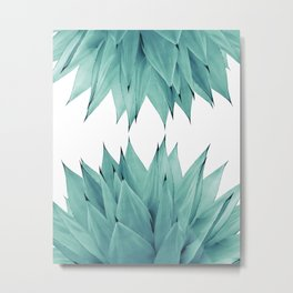Agave Upside Down #1 #tropical #succulent #decor #art #society6 Metal Print