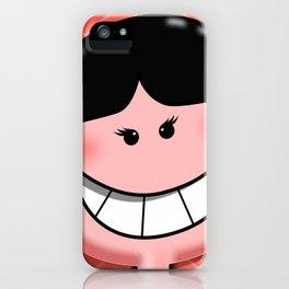Josephine Orange iPhone Case