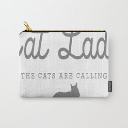 Crazy Town Cat Lady Carry-All Pouch