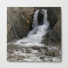 Refreshing Waterfall Beauty Metal Print
