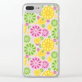 Citrus Clear iPhone Case