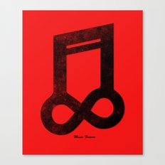 Music Forever Canvas Print