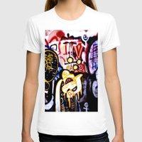 graffiti T-shirts featuring Graffiti by Ian Bevington