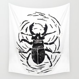 stag beetle Wall Tapestry