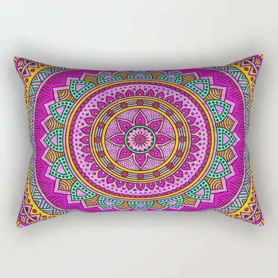 Hippie mandala 94 Rectangular Pillow