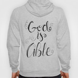 God Is Able Hoody