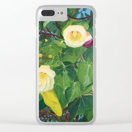 Flowers in Koh Samui Thailand Clear iPhone Case
