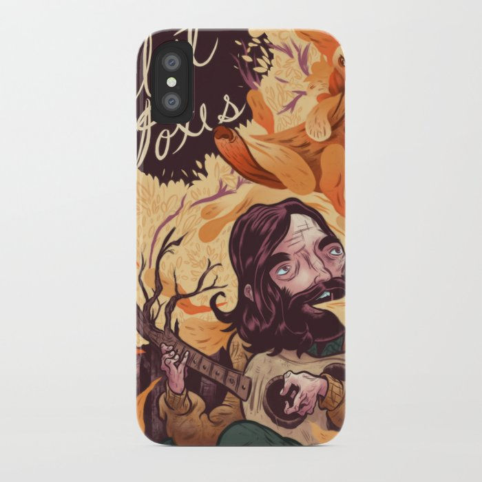 Fleet Foxes Poster iPhone Case