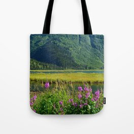 July at Tern Lake Tote Bag