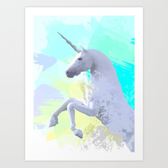 Magic Unicorn I Art Print