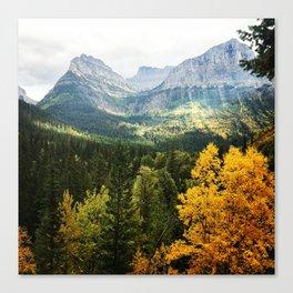 FALL MOUNTAIN WHISPER Canvas Print