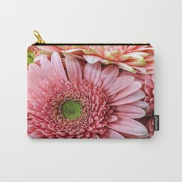 Light Pink Daisies Carry-All Pouch