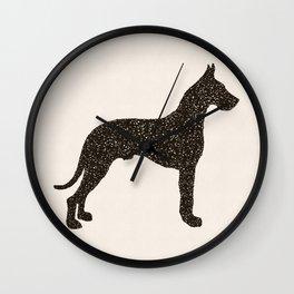 Dog III - Great Dane Wall Clock