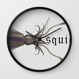 Squid Pro Quo Wall Clock