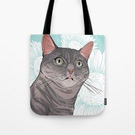 Sherlock the Cat Tote Bag
