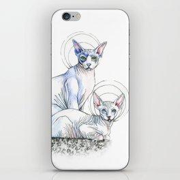 Angel Babies iPhone Skin