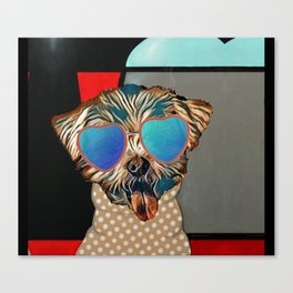 Doggie Time Canvas Print
