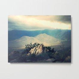 glimmer of the desert Metal Print