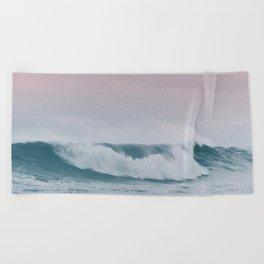 Pale ocean Beach Towel