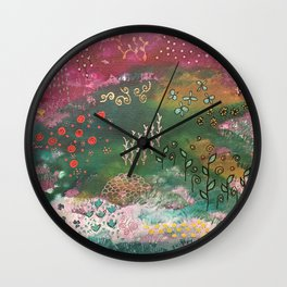 A Walk in the Garden - Series - One Wall Clock
