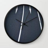 tokyo Wall Clocks featuring Tokyo by Thomas Cristofoletti