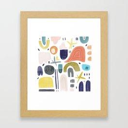 Good dream Framed Art Print