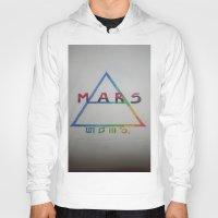 mars Hoodies featuring MARS. by TheArtOfFaithAsylum
