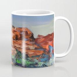 COURTHOUSE BUTTE ROCK Coffee Mug